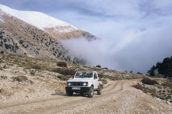 במרומי הרי הטרוס, הרי הטרוס, טיולים בטורקיה