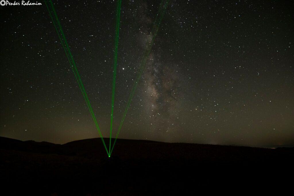 תצפיות כוכבים פתוחות ללא טלסקופים