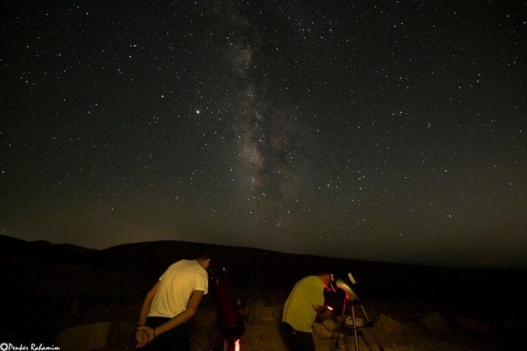 תצפית כוכבים במכתש רמון